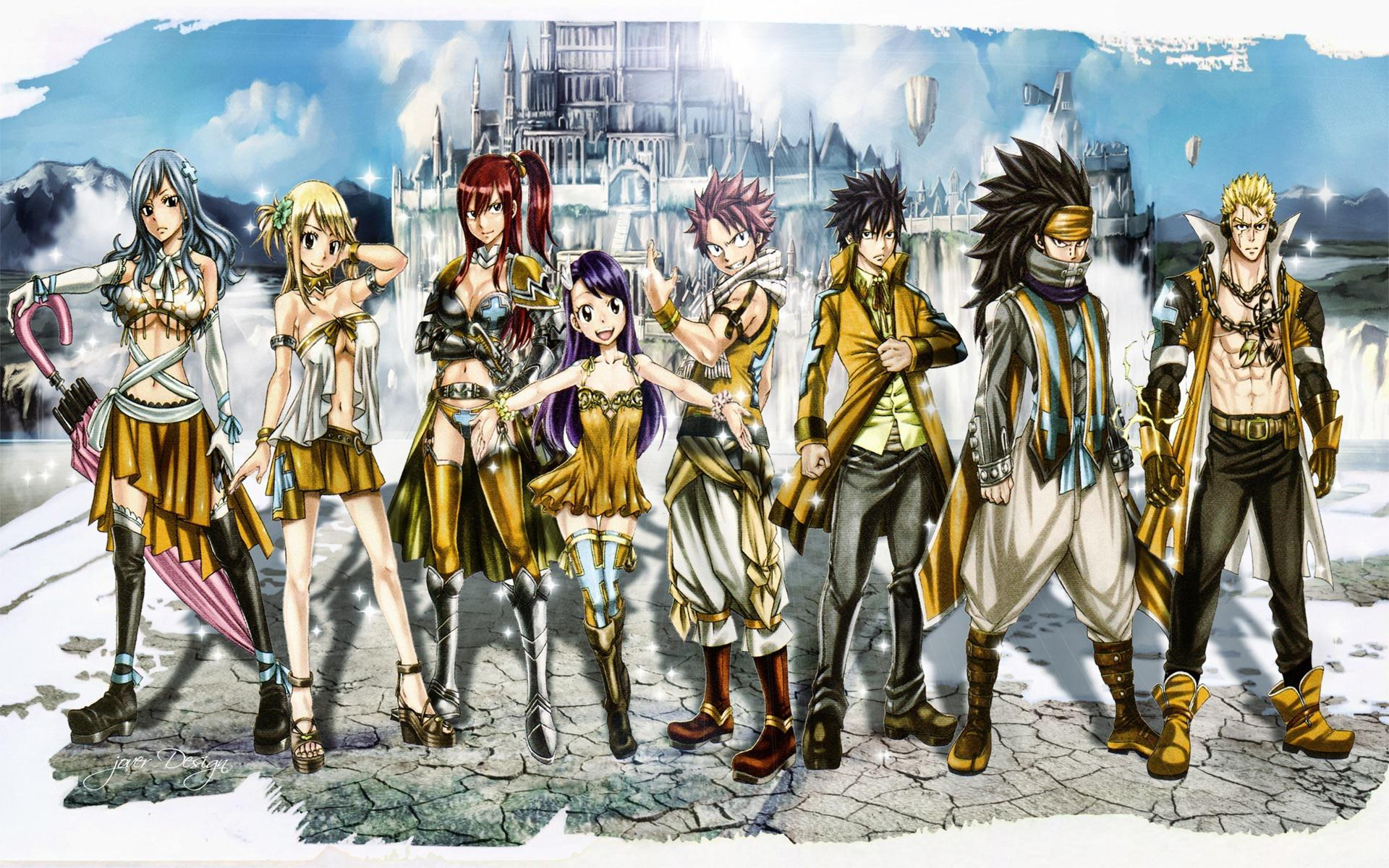 Hd Fairy Tail Wallpaper Posted By Sarah Tremblay