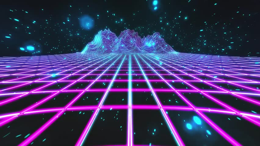 80s Retro Future Style Gaming Stock Footage Video 100 Royalty free 25046078 Shutterstock