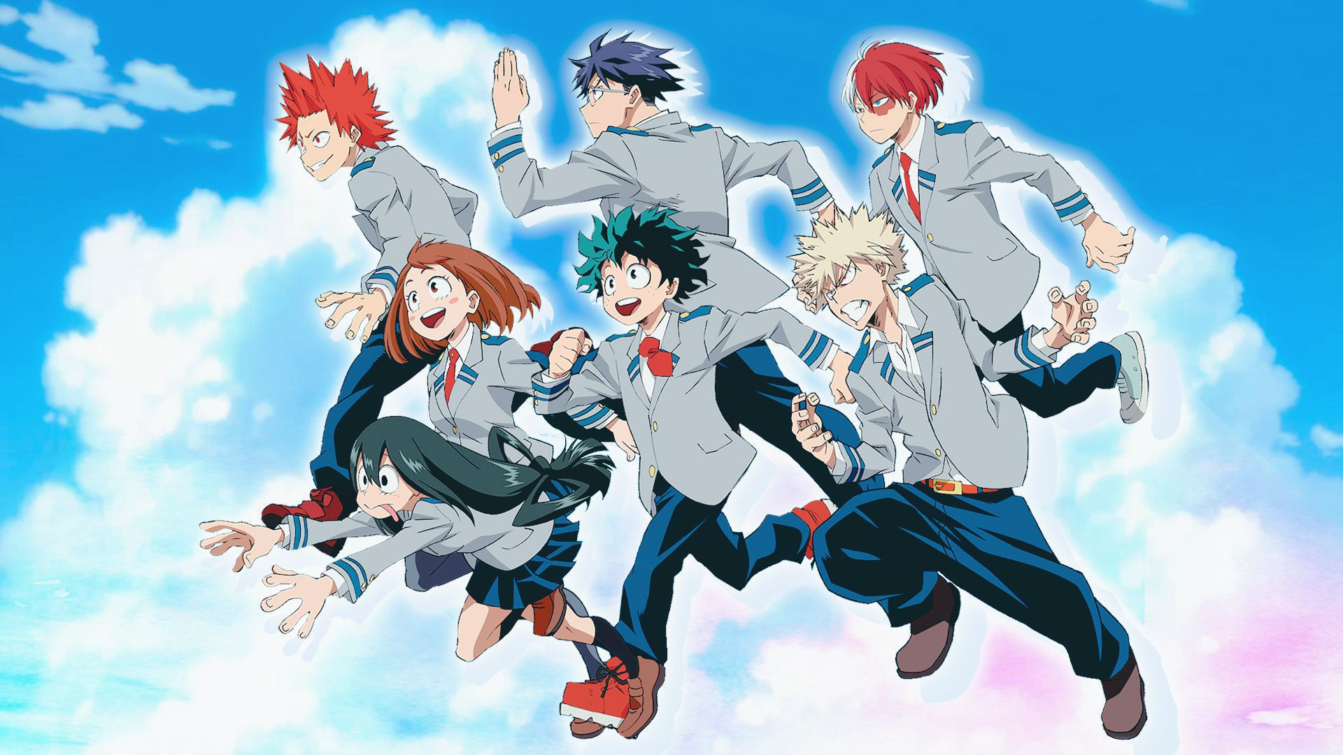 Hd My Hero Academia Wallpaper Posted By Ryan Anderson