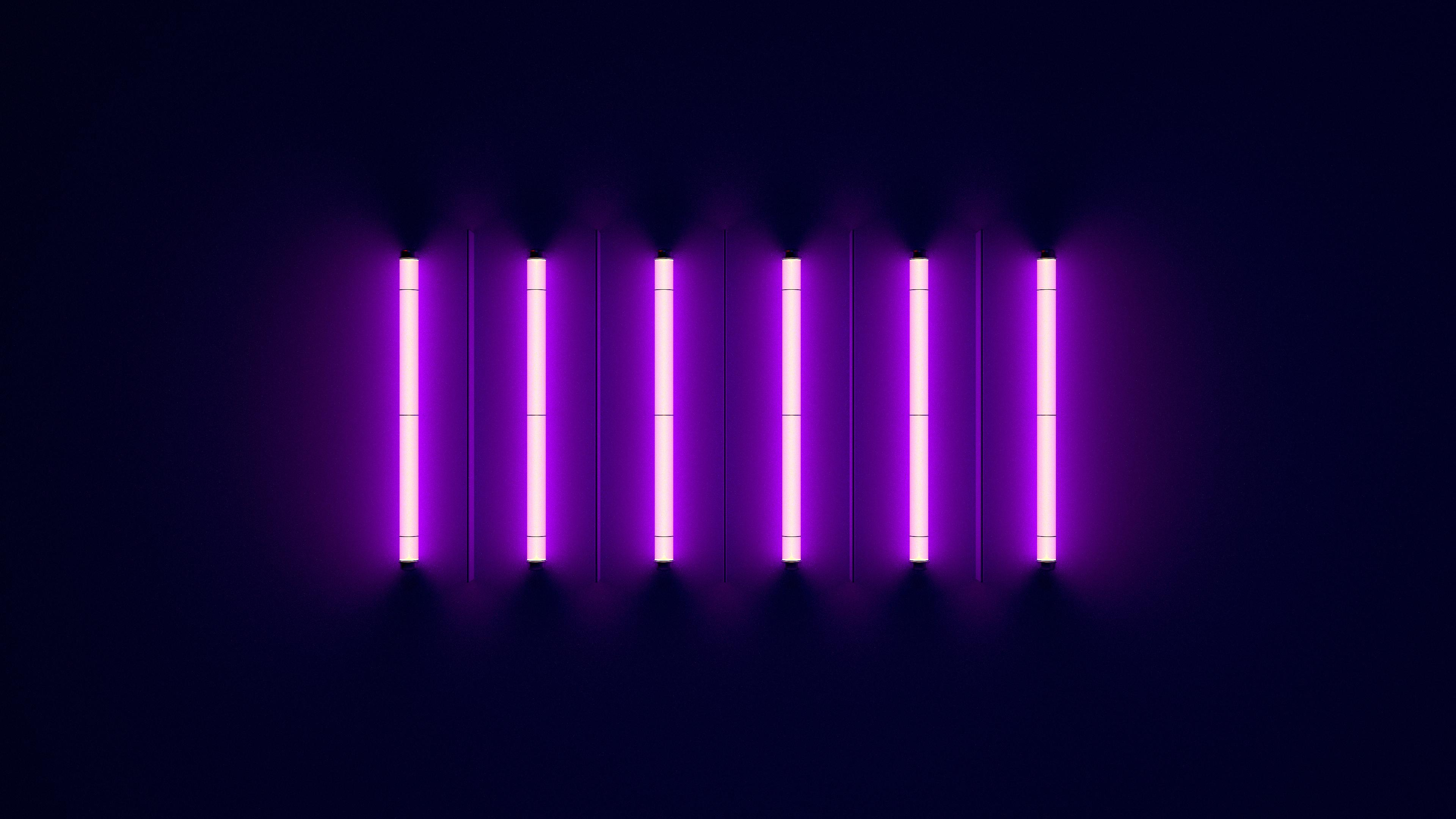 Neon 4k Ultra HD Wallpaper Background Image 3840x2160