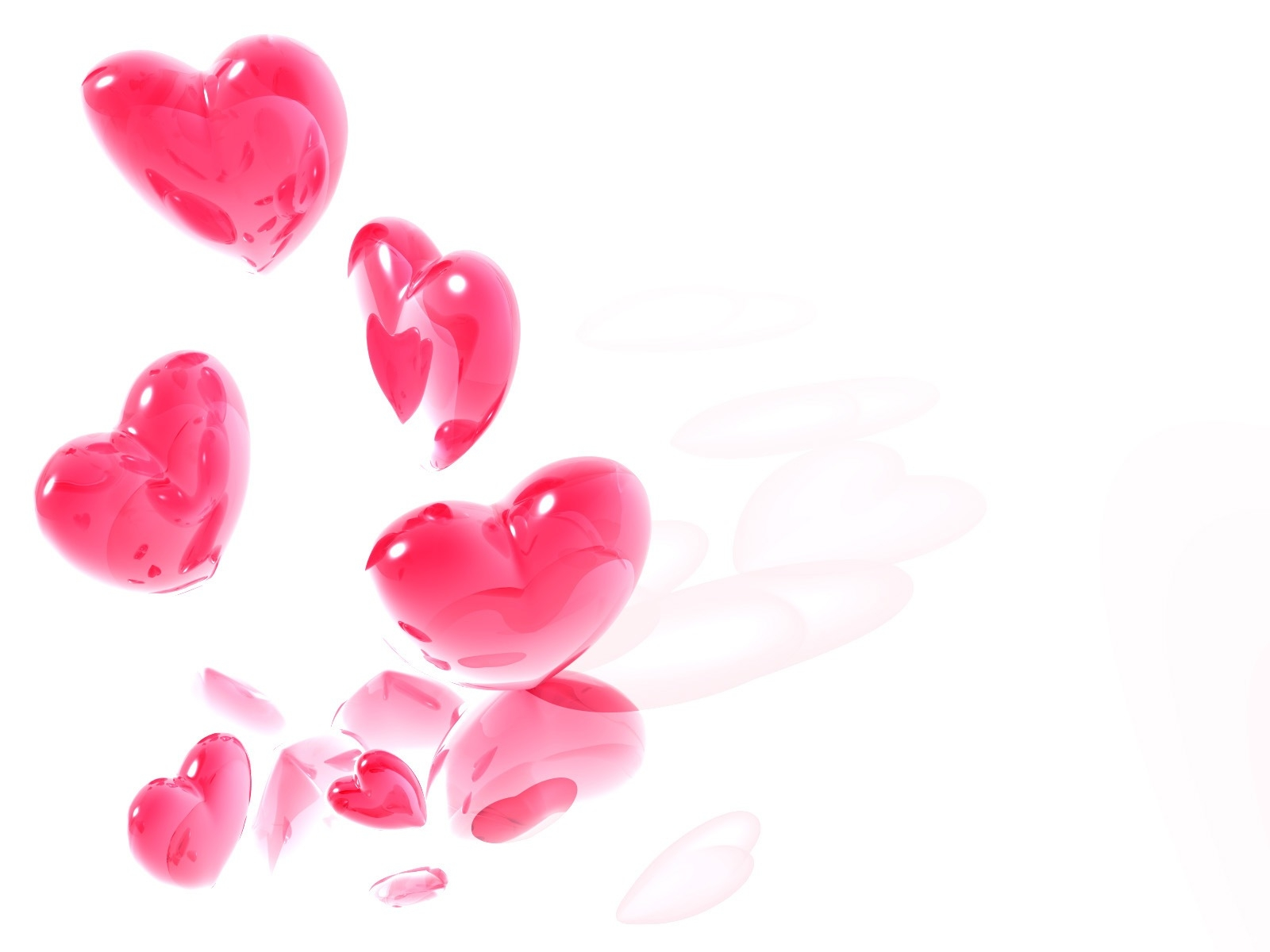 Pink Hearts Wallpaper Free Beautiful Love Heart Symbol Hd