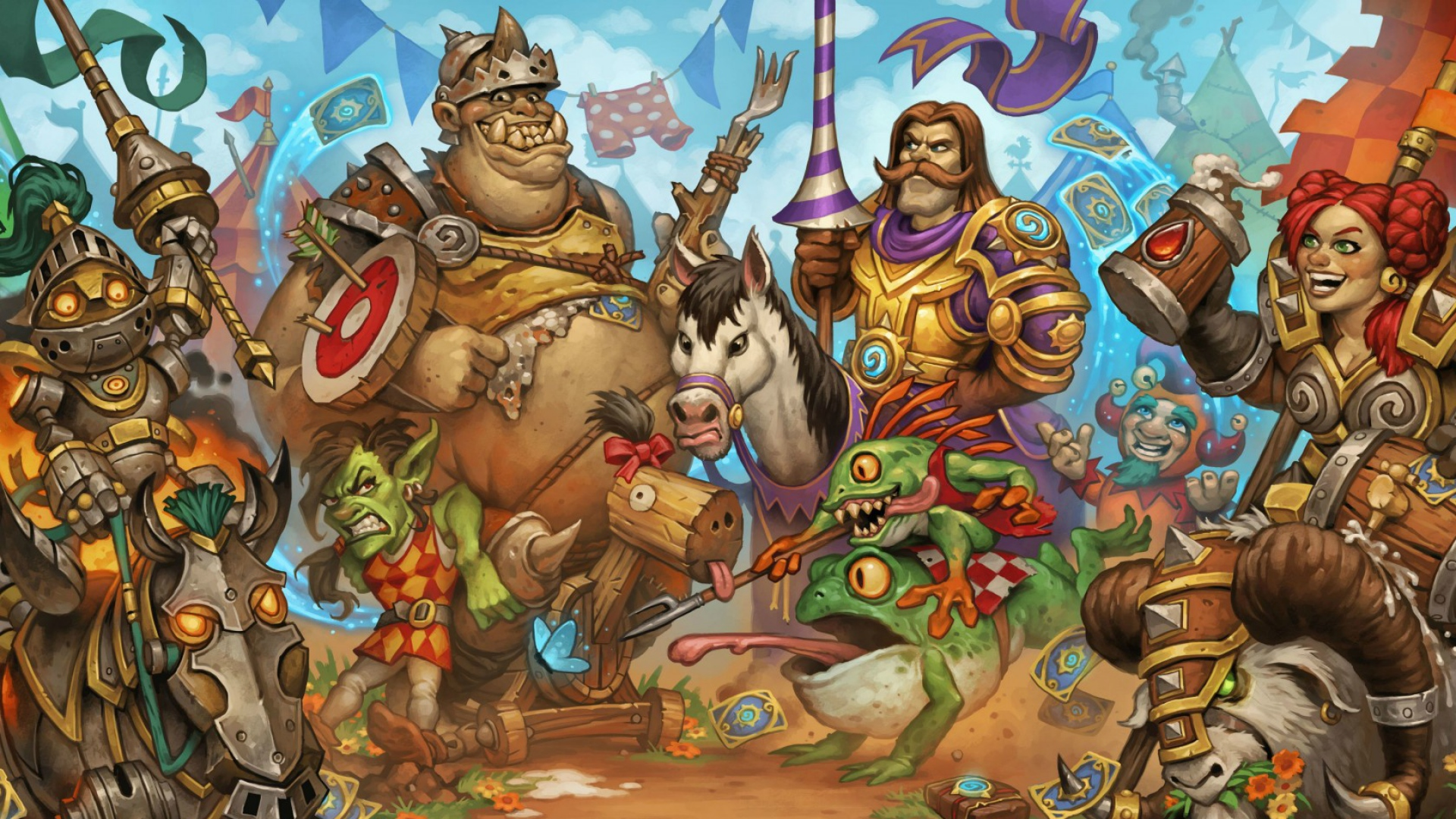 Hearthstone Wallpaper 1920x1080 Posted By Ryan Johnson