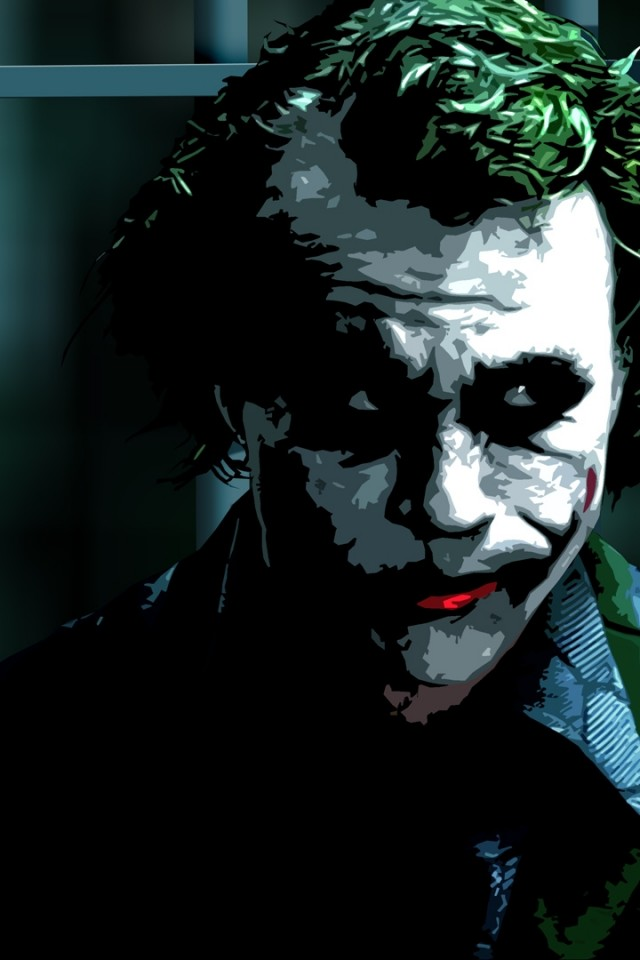 Heath Ledger Joker Wallpaper Iphone Hd Wallpapers