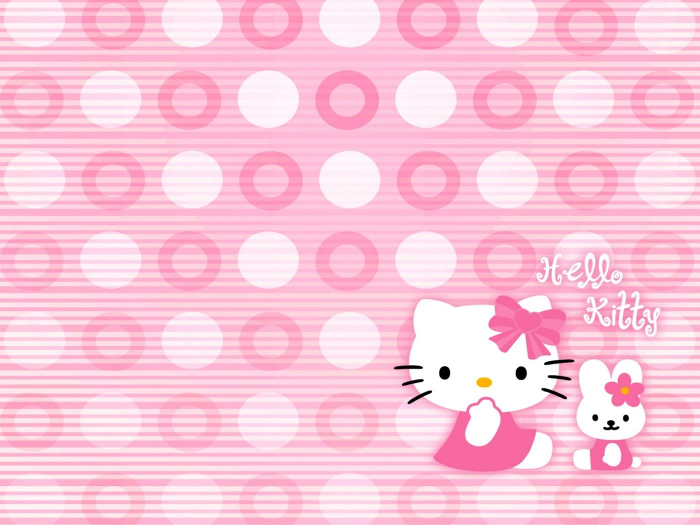 Hello Kitty Desktop Background