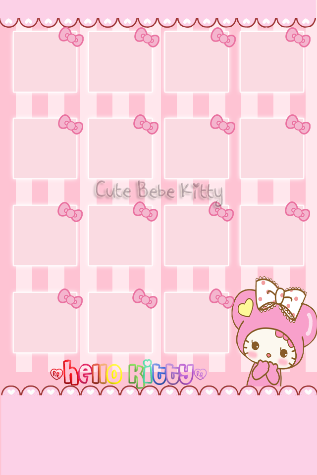 Hello Kitty Iphone Background Posted By Zoey Tremblay
