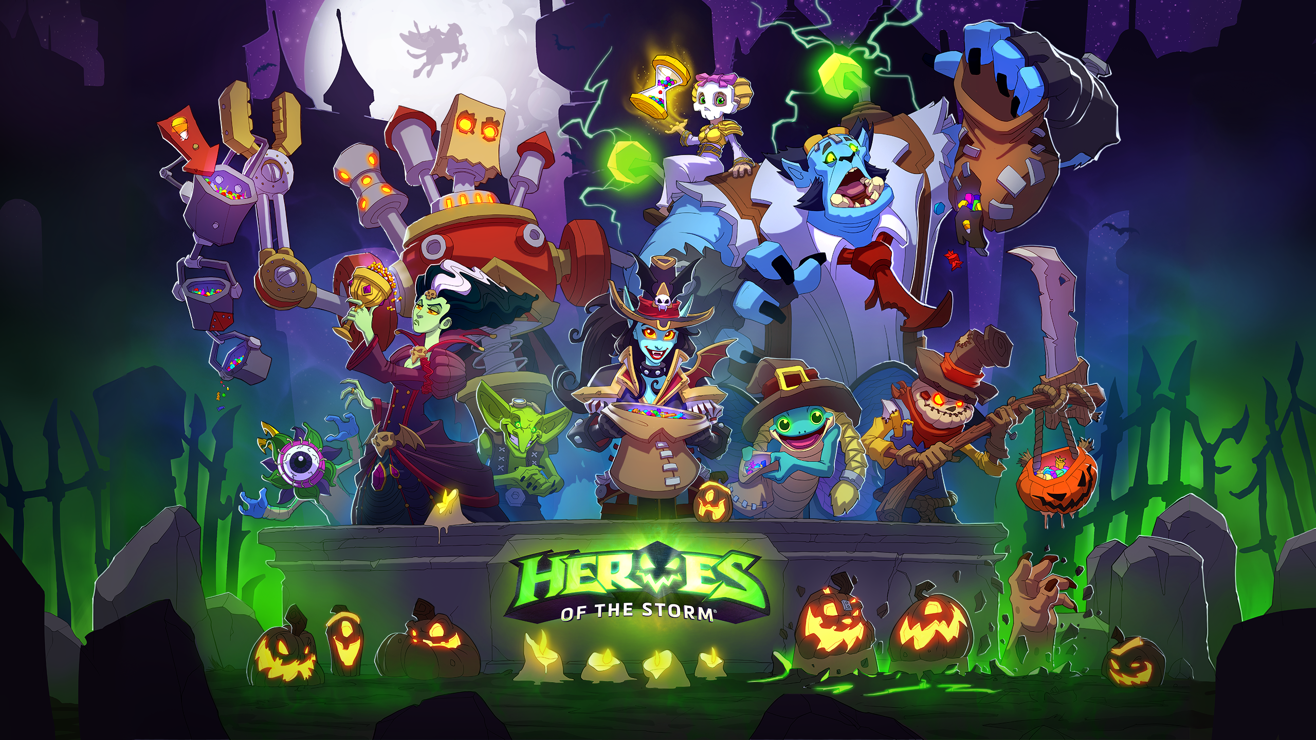 Heroes Of The Storm Wallpaper Hd Posted By Ethan Mercado