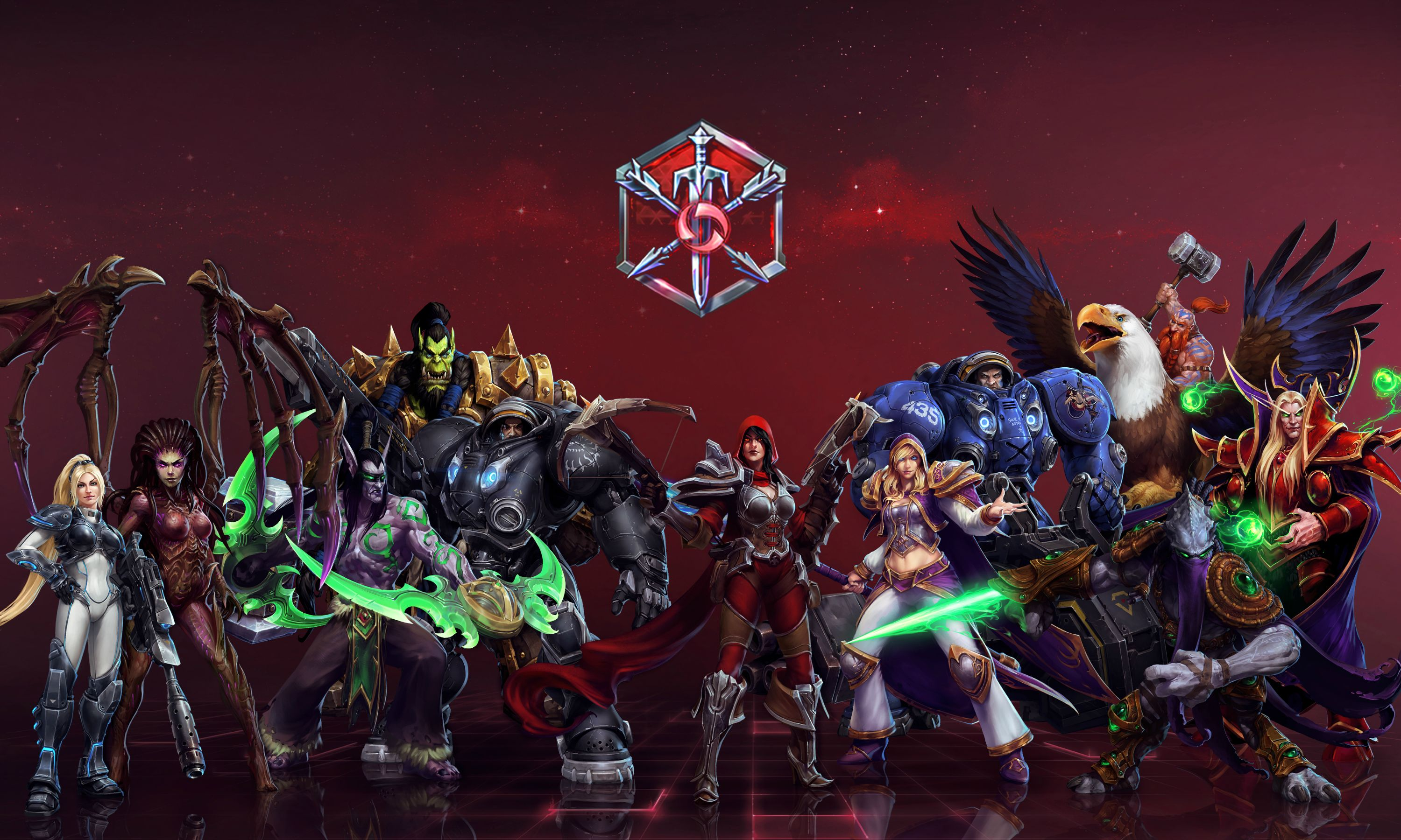 Heroes Of The Storm Wallpapers Hd Posted By Samantha Tremblay