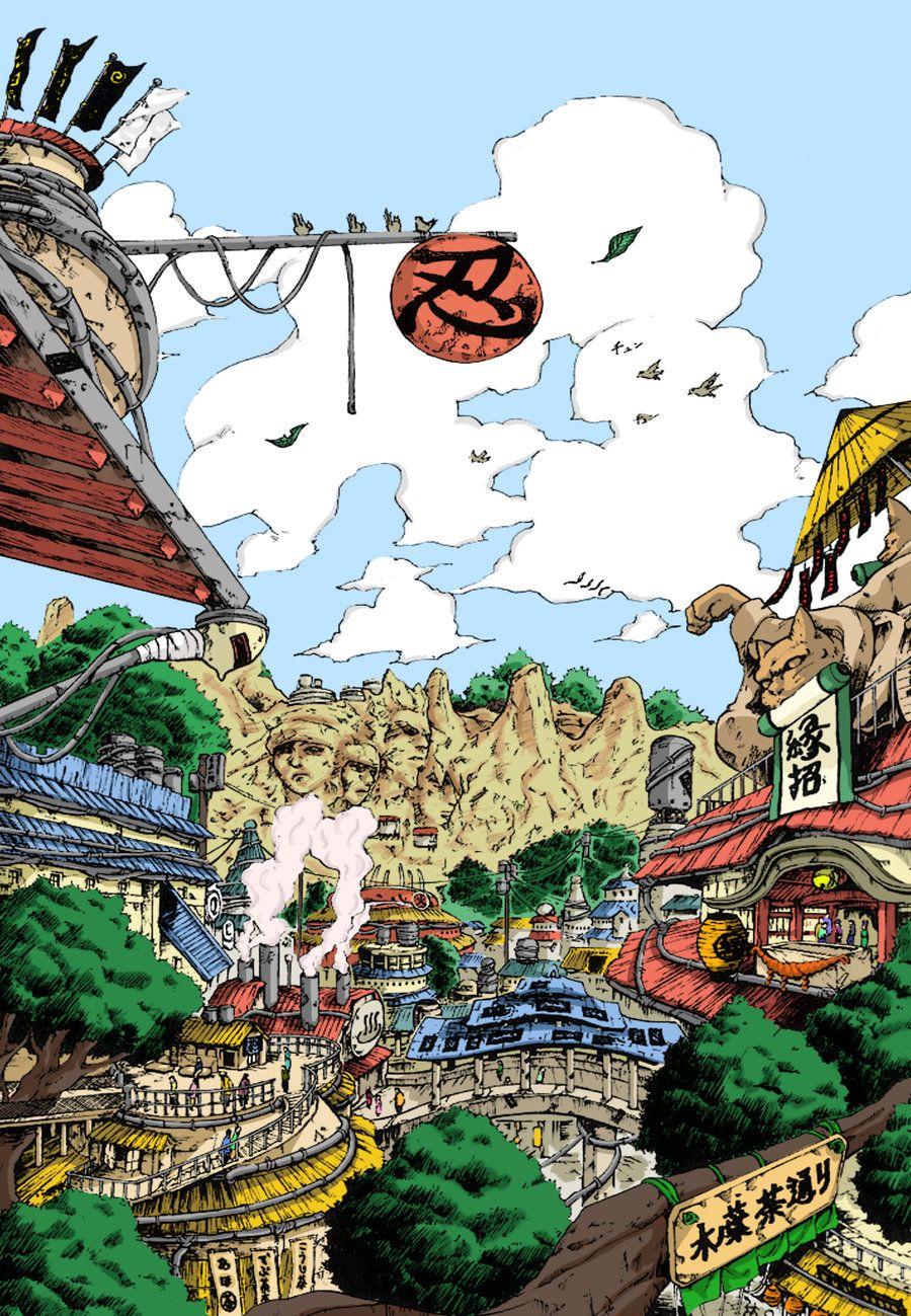 Hidden Leaf Village Personagens de anime Anime e Naruto