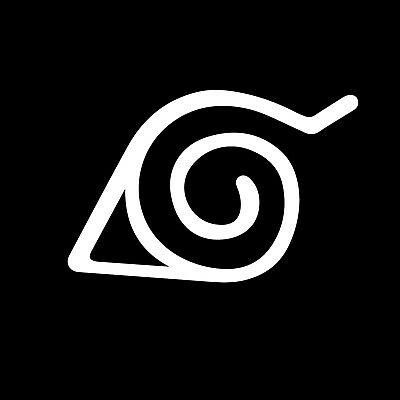 Naruto Konoha Hidden Leaf Village Symbol StickerDecal eBay