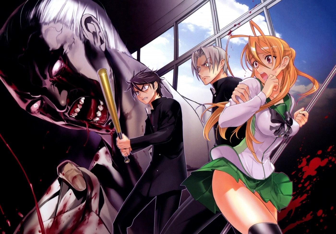 Highschool Of The Dead Hd Posted By Ryan Mercado