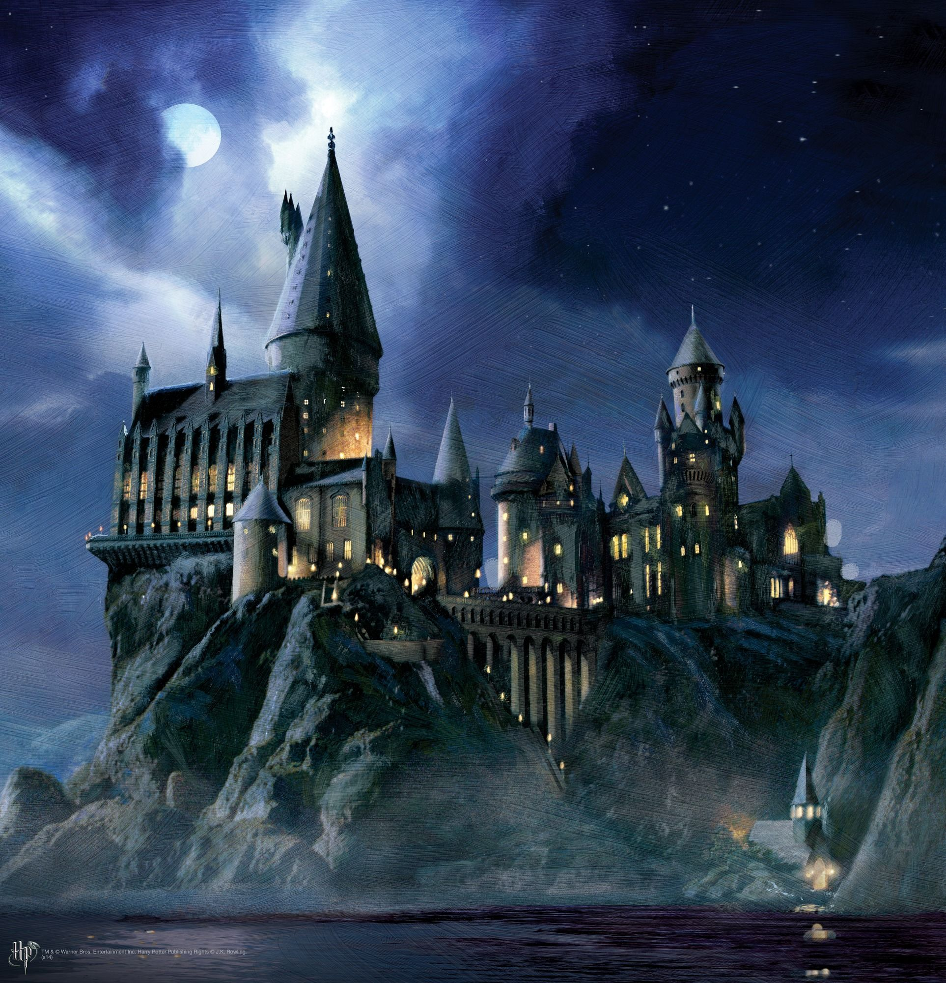 Hogwarts Castle Background Posted By