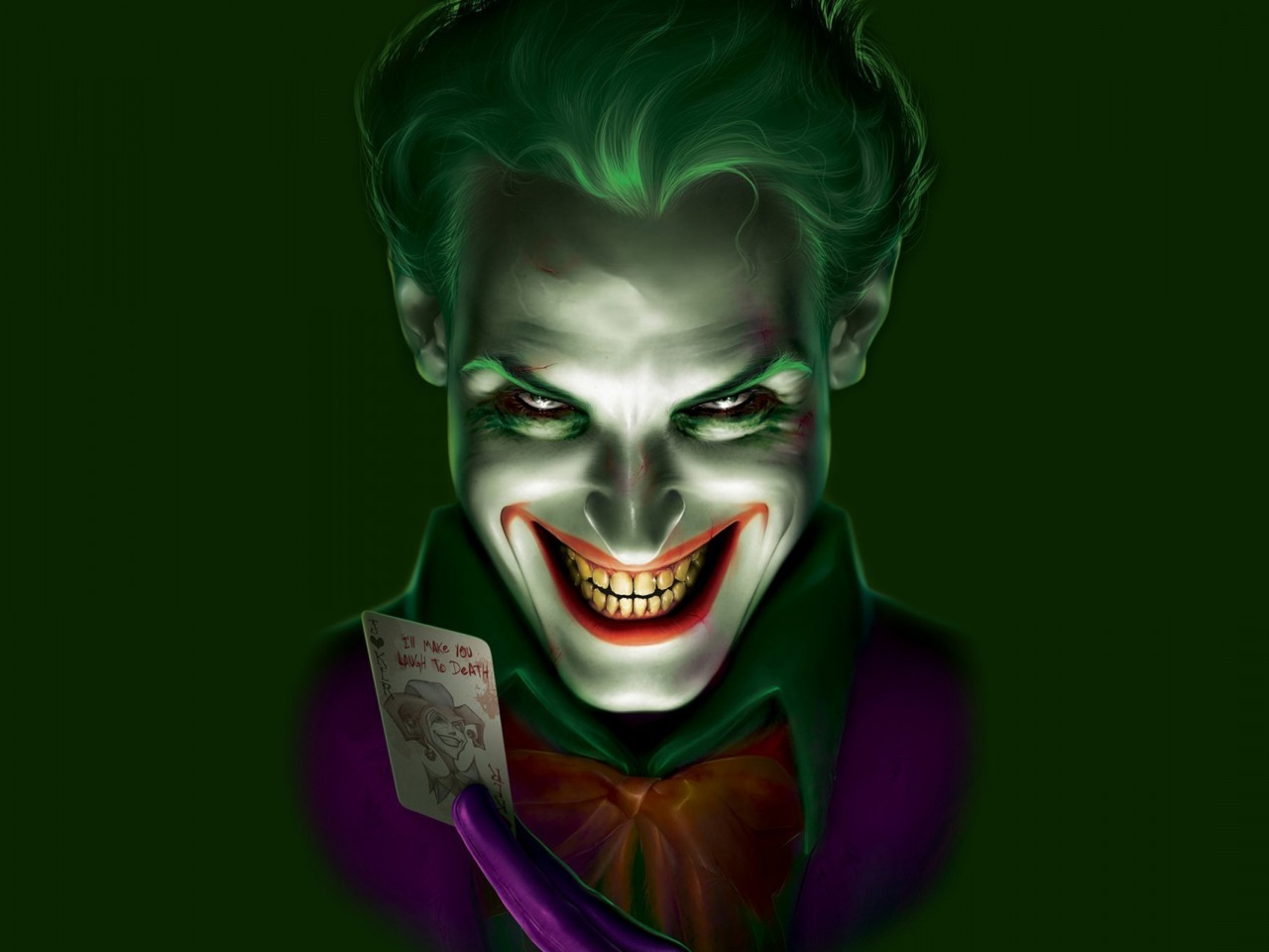 Horror Joker Wallpapers posted by ...