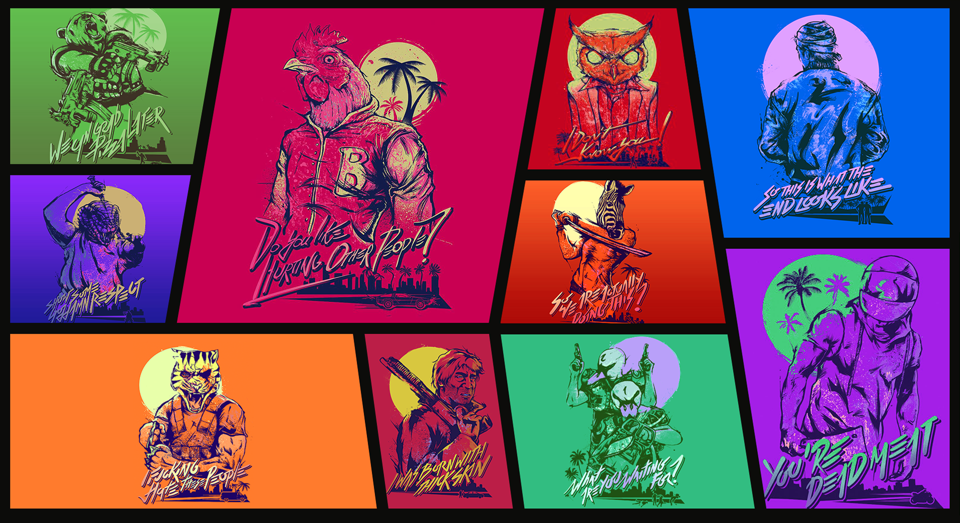 Hotline Miami 2 Background Posted By Ethan Johnson
