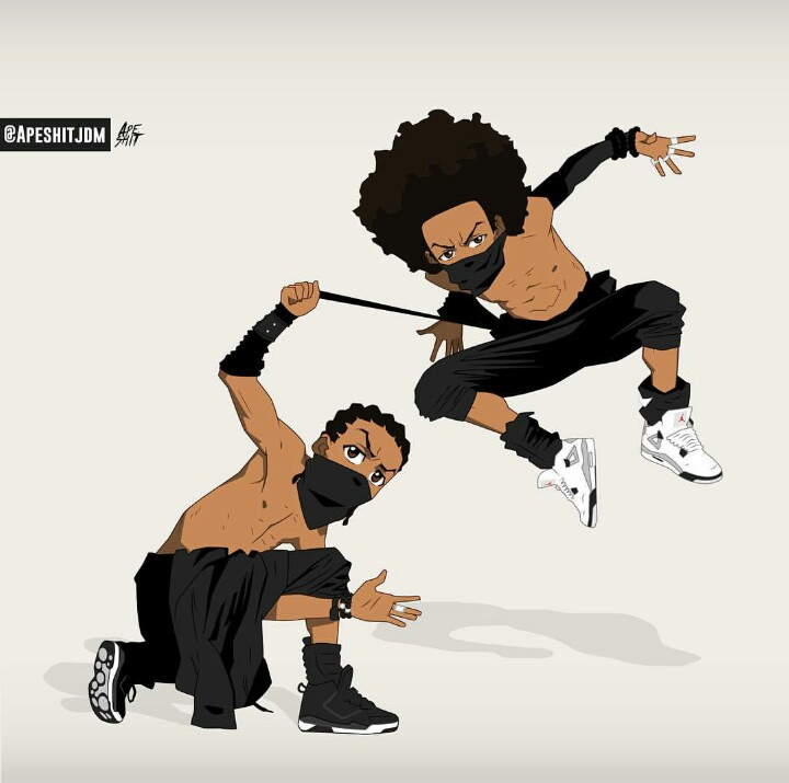 Huey Boondocks Wallpaper 45 image collections of wallpapers