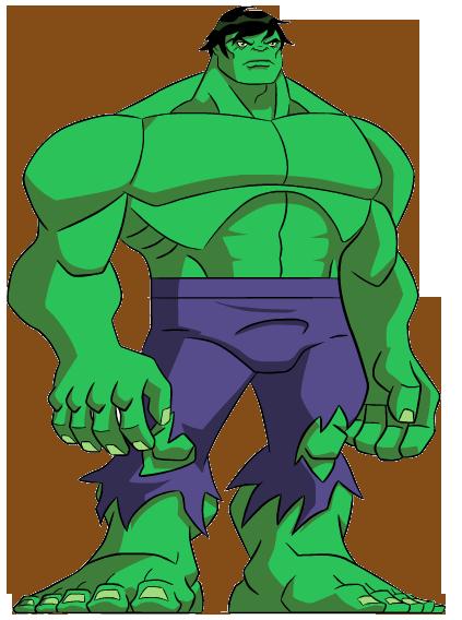 Hulk Clipart Hulk Clipart Cli - Avengers Cartoon Png Hulk, Transparent Png  - kindpng