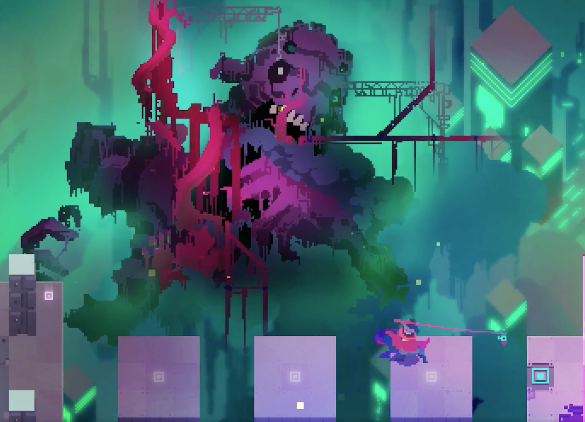 Hyper Light Drifter Iphone Wallpaper Posted By John Johnson