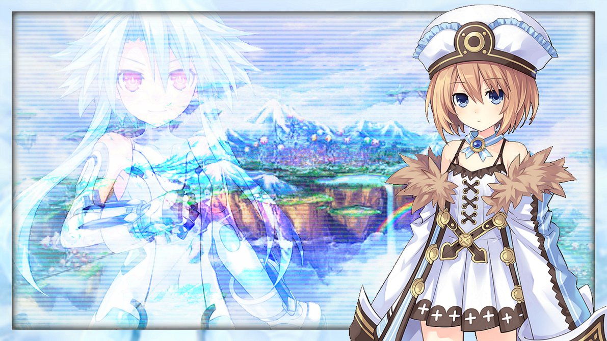 Hyperdimension Neptunia Blanc Wallpaper Posted By Samantha Johnson