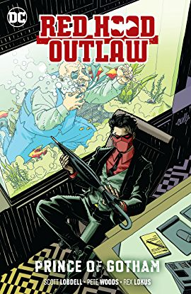 Red Hood Outlaw #28A Woods Variant NM 2019 Stock Image