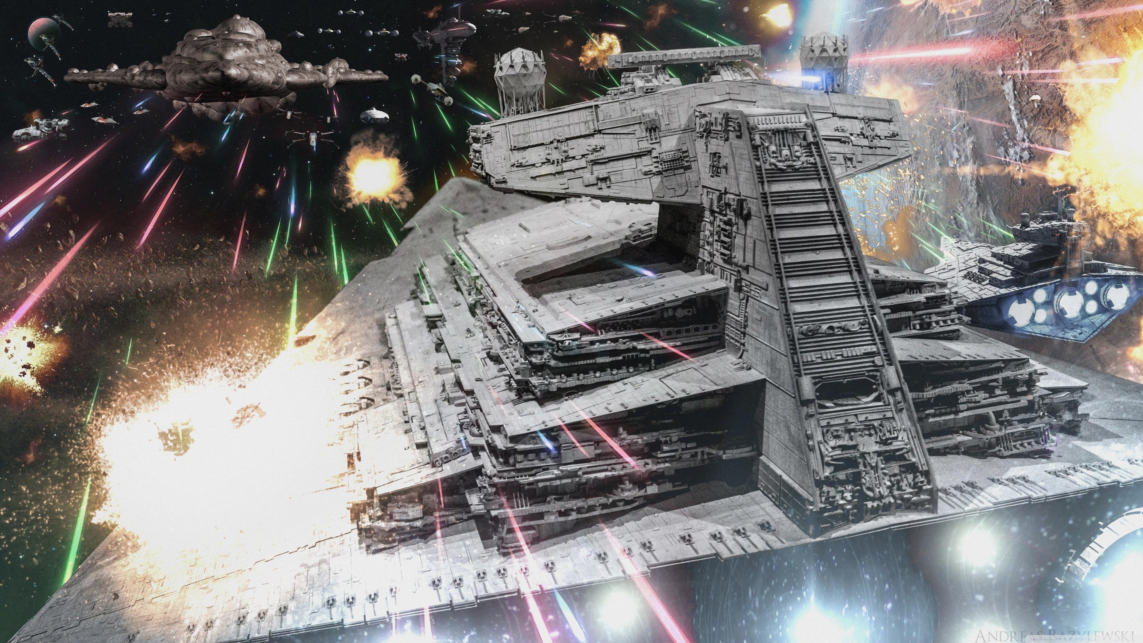 Star Wars Rebel Ambush 4K HD Desktop Wallpaper for 4K