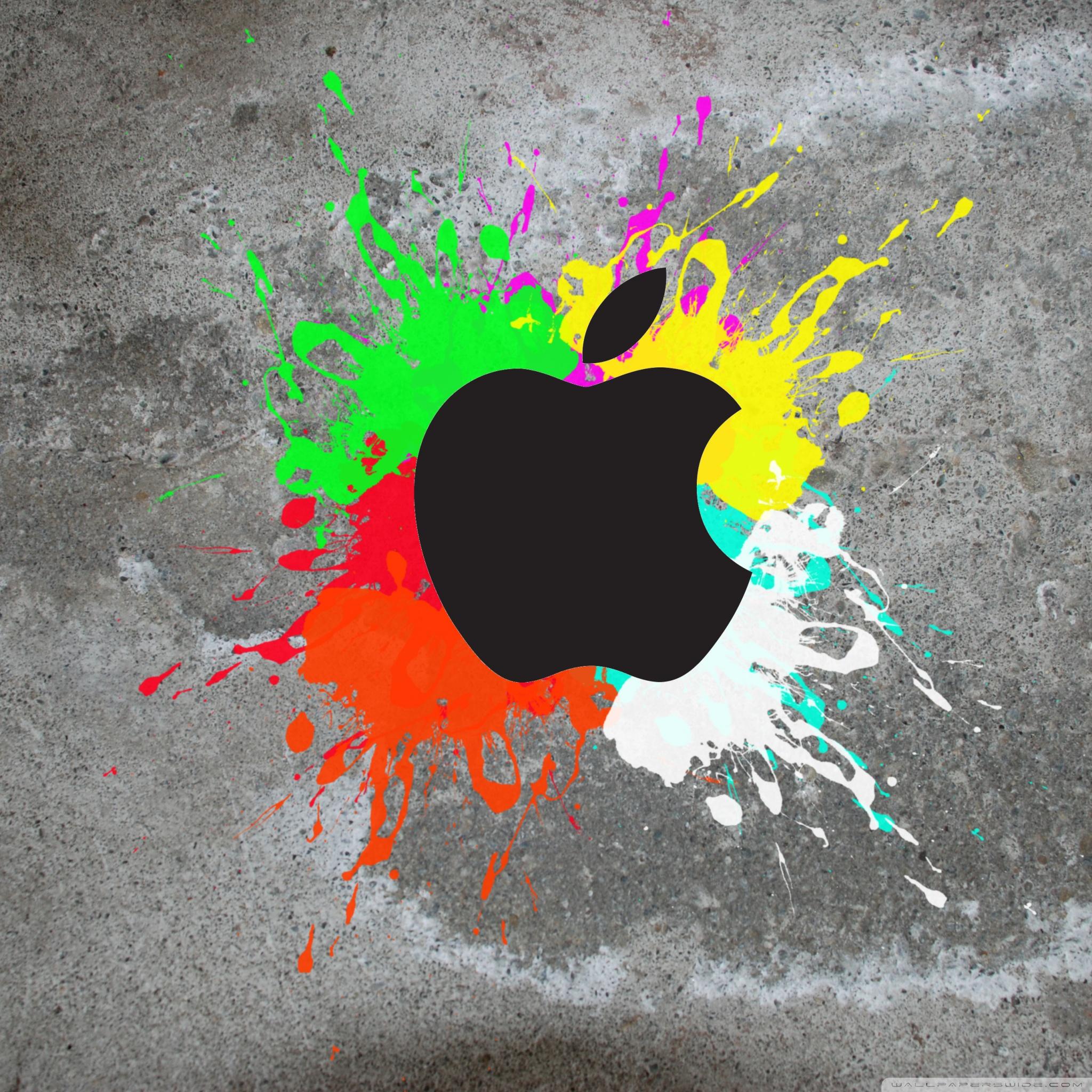 Colorful Apple 4K HD Desktop Wallpaper for 4K Ultra HD TV