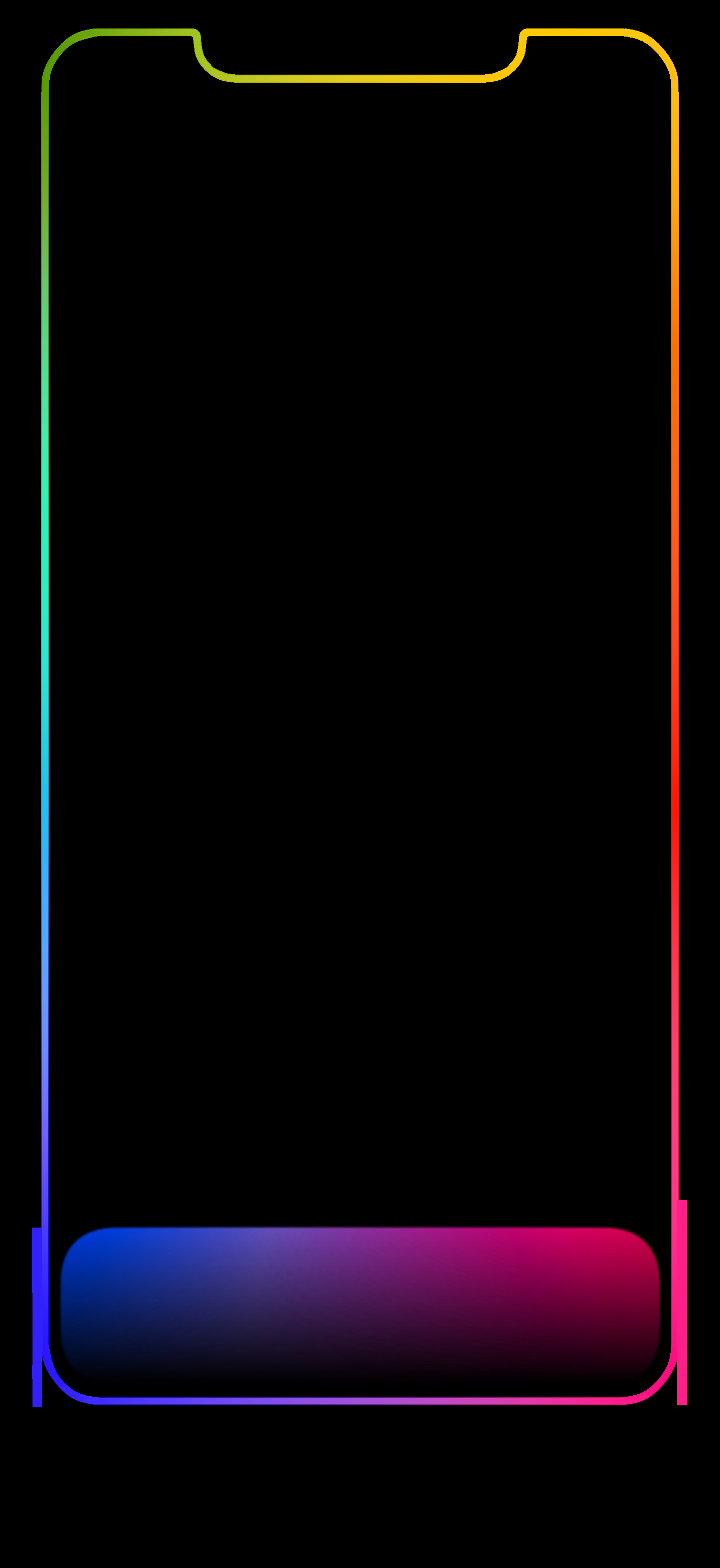 Iphone Xs Max Outline Wallpapers Sfondi Iphone Xs Max Free