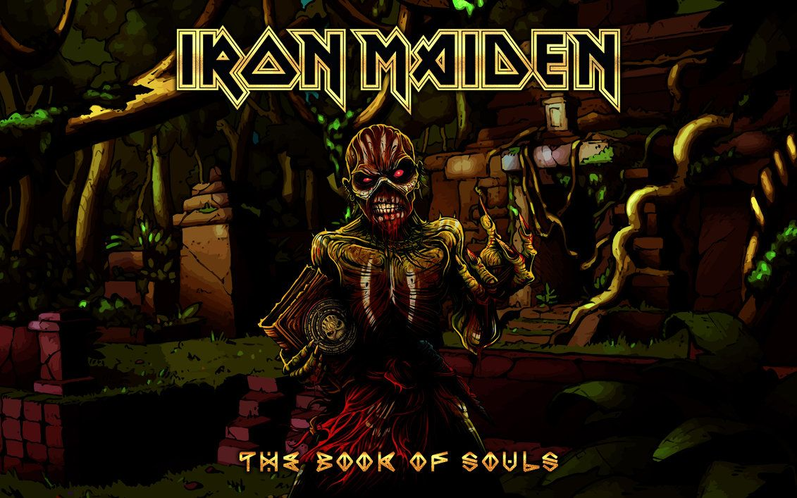 Iron Maiden Book Of Souls Wallpaper Posted By John Mercado