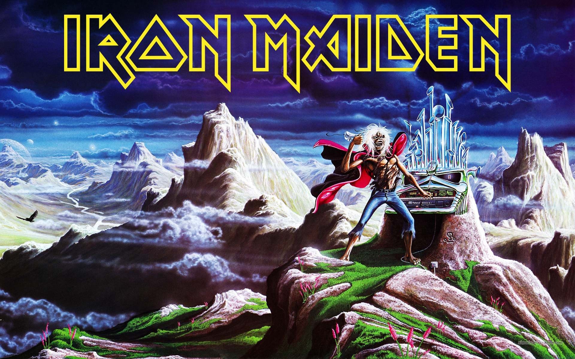 Iron Maiden Desktop Wallpaper Posted By Ethan Thompson