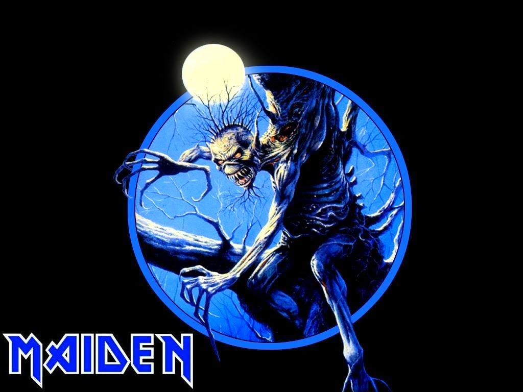 Iron Maiden Logo Wallpaper Posted By John Thompson