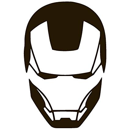 Iron Man Cartoon Face Posted By Zoey Sellers