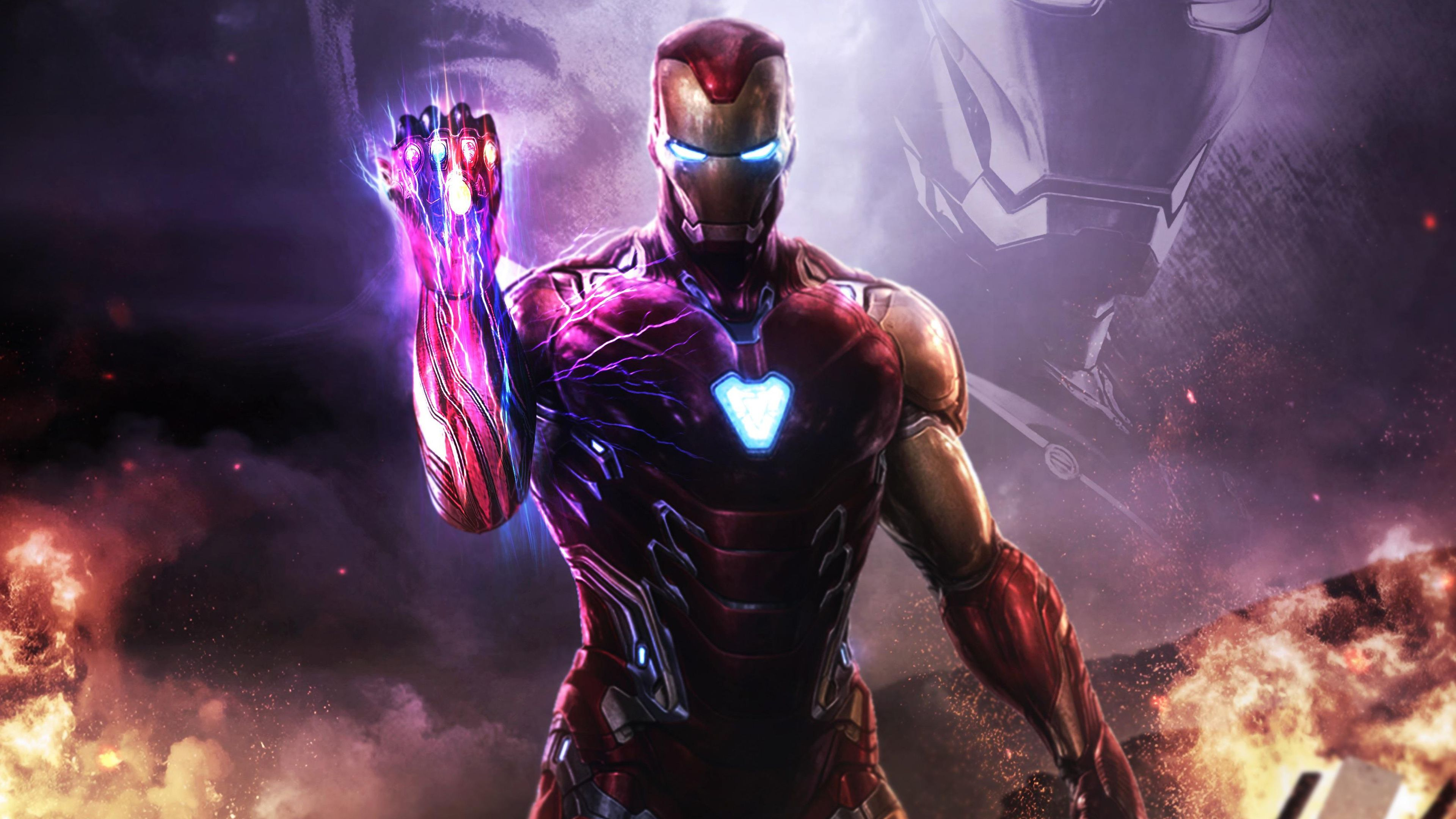 Iron Man Endgame Wallpapers Posted By John Tremblay