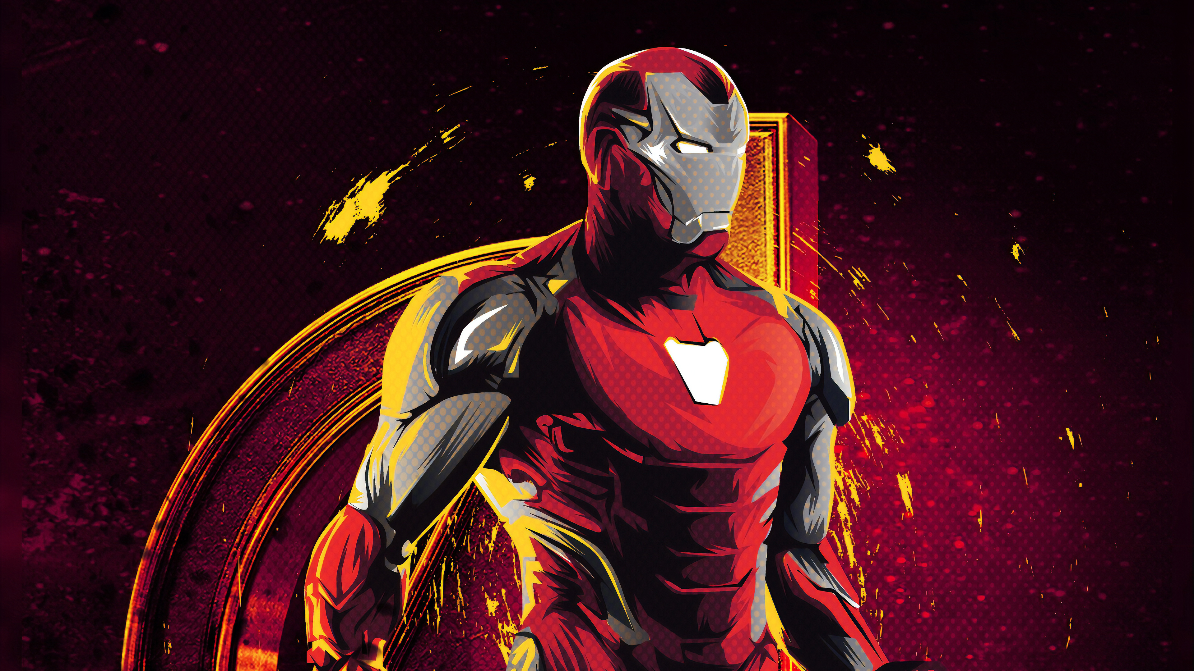 Iron Man Neon Wallpapers Posted By Ethan Sellers