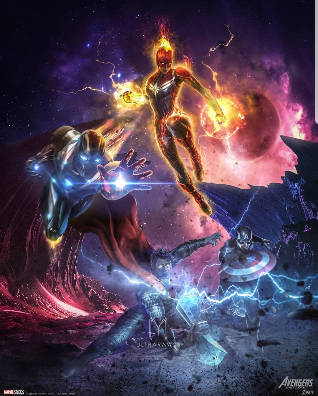 Iron Man Vs Thanos Wallpapers Posted By Ryan Anderson