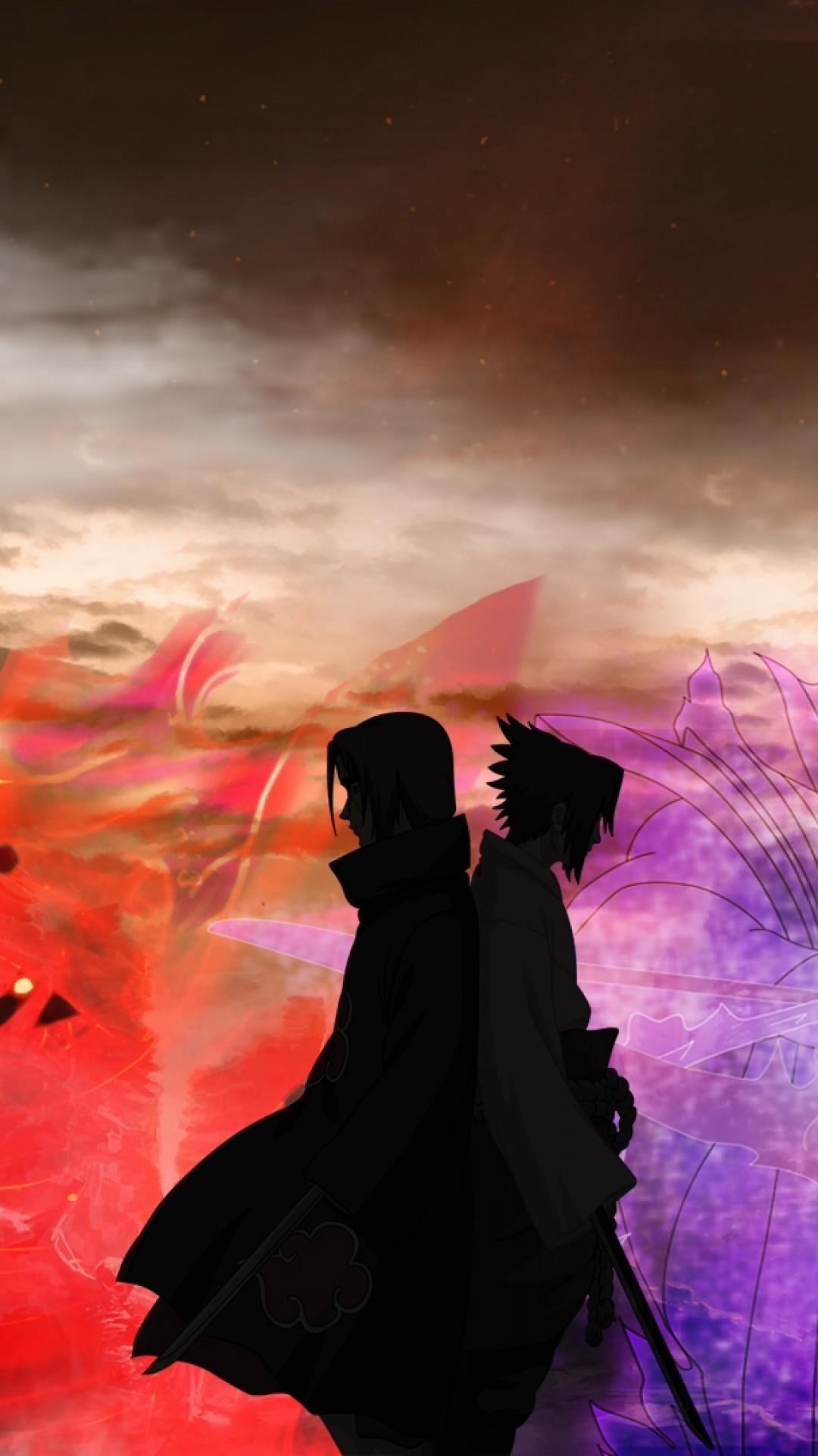 Download 1080x1920 Uchiha Itachi Uchiha Sasuke Naruto
