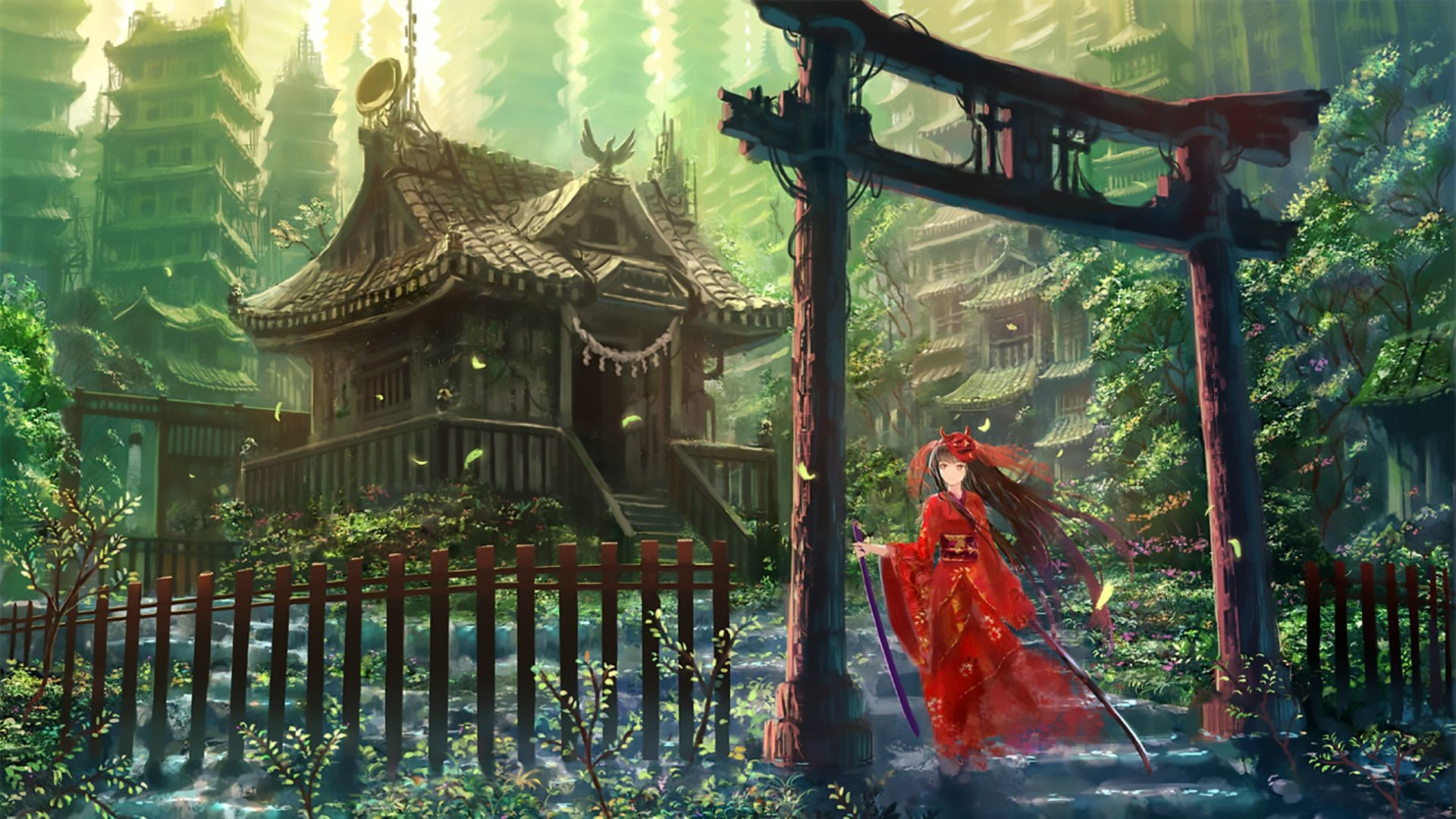 Japan Anime Background Posted By Zoey Peltier