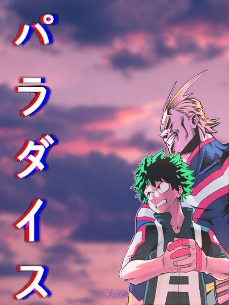 My Hero Academia Japanese Aesthetic Wallpaper anime a