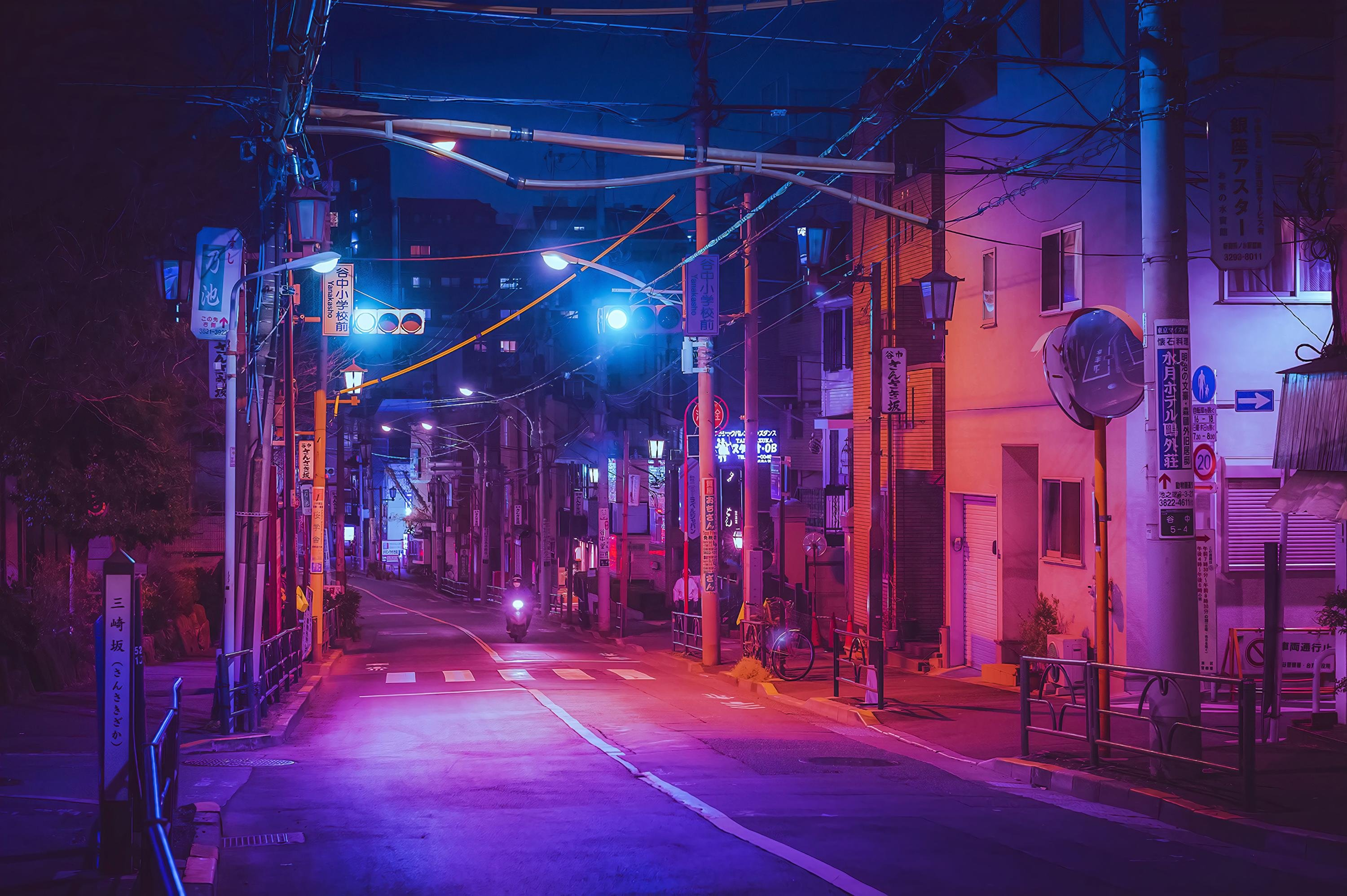 Japanese Street Wallpaper Posted By Samantha Peltier