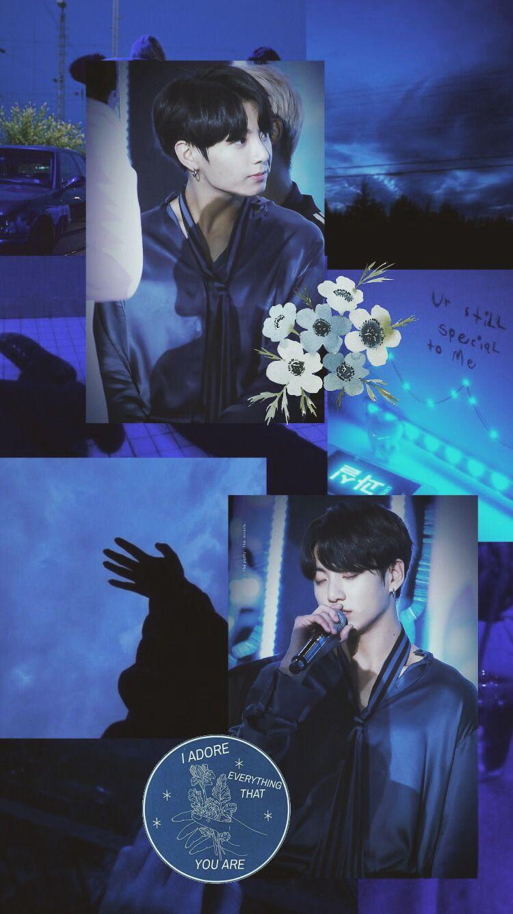 Jeon Jungkook Edit BTS Wallpaper Lockscreen Homescreen in