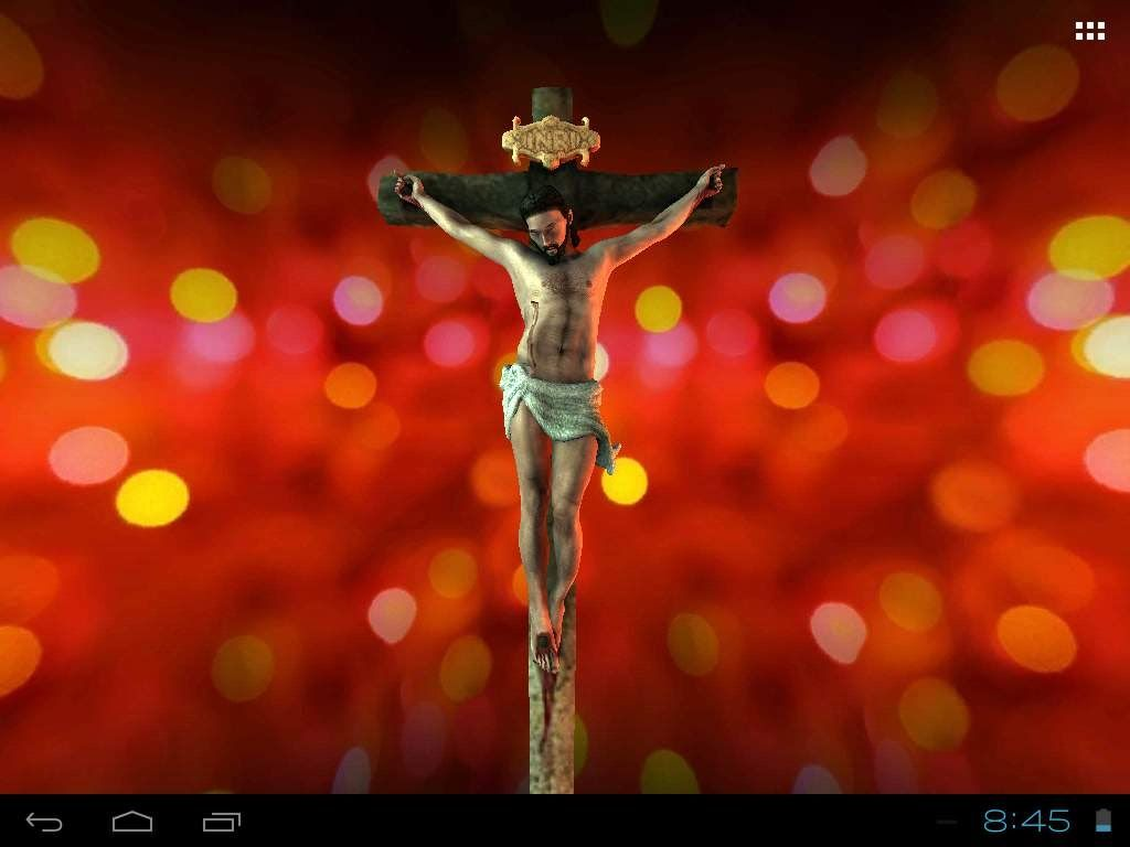Jesus The Cross Live Wallpaper