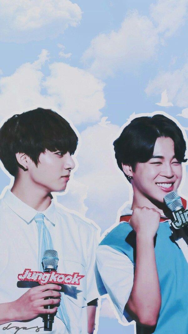 JiKook wallpaper in 2019 Jikook Taegi Bts