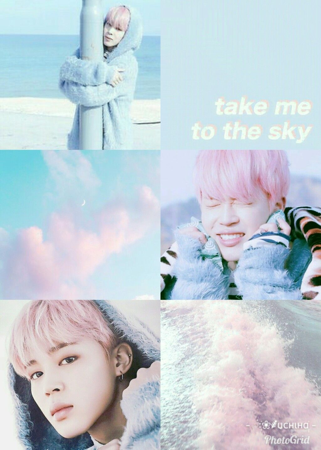 Pastel Bts Pink Aesthetic Wallpaper