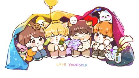 BTS Chibi HD Wallpapers New Tab Themes HD Wallpapers