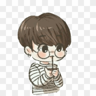 Transparent Chibi Bts Wallpaper Cartoon HD Png Download