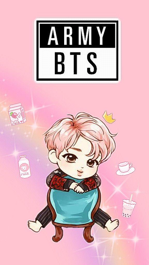 freetoedit jin bts wallpaper pink army kimseokjin kawai