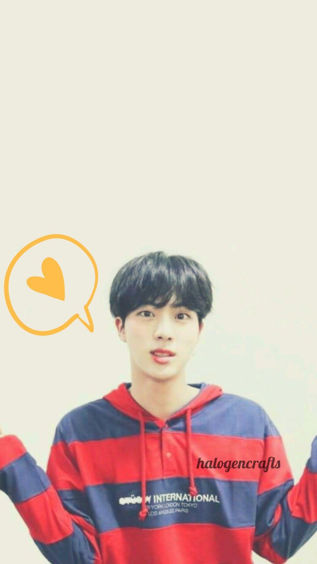 BTS Jin wallpaper halogencrafts bts jin wallpaper