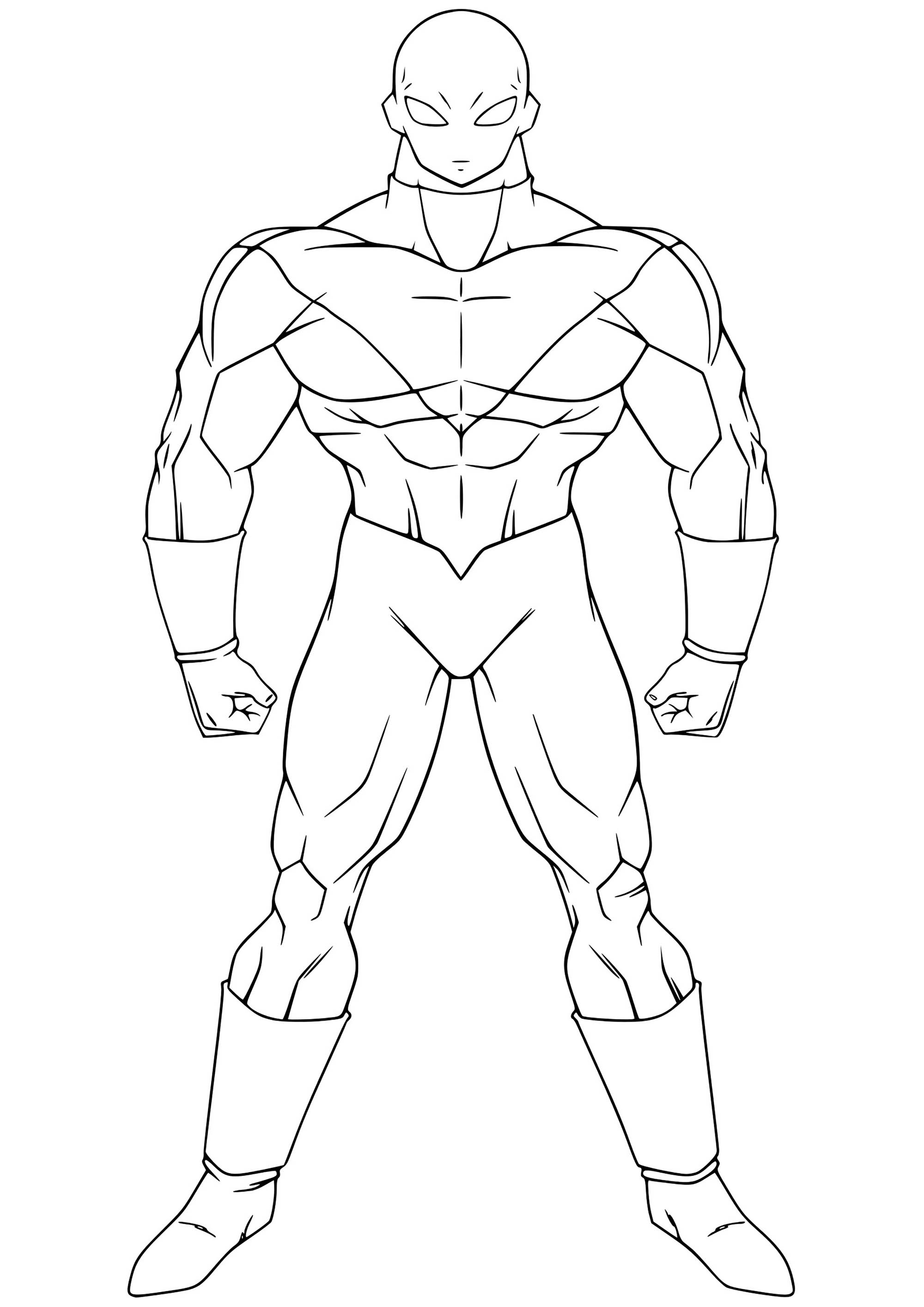 Coloring and Drawing: Goku Ui Coloring Pages