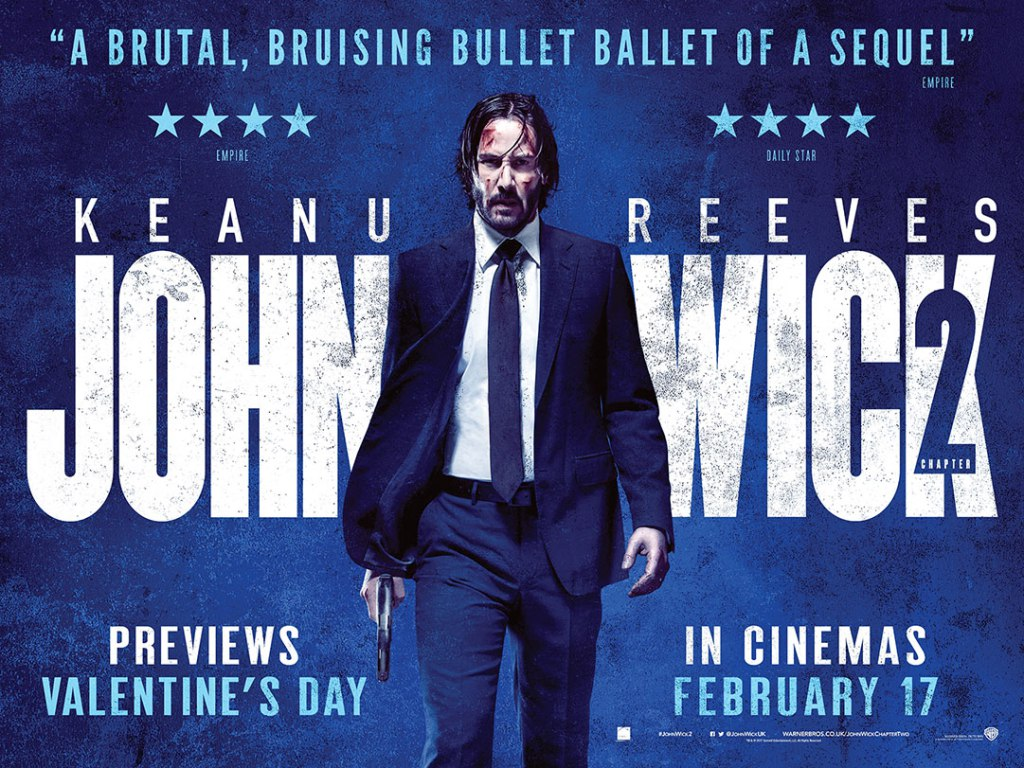 John Wick 2 Poster Hd Posted By John Simpson