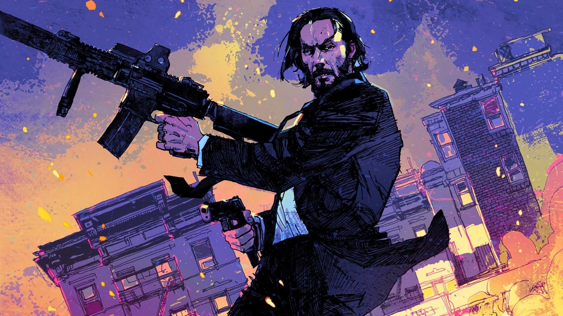 John Wick Fortnite Wallpaper Posted By Samantha Sellers