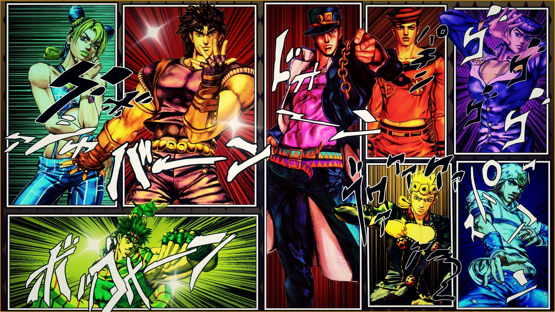 Jojo Part 4 Wallpaper Posted By Samantha Anderson