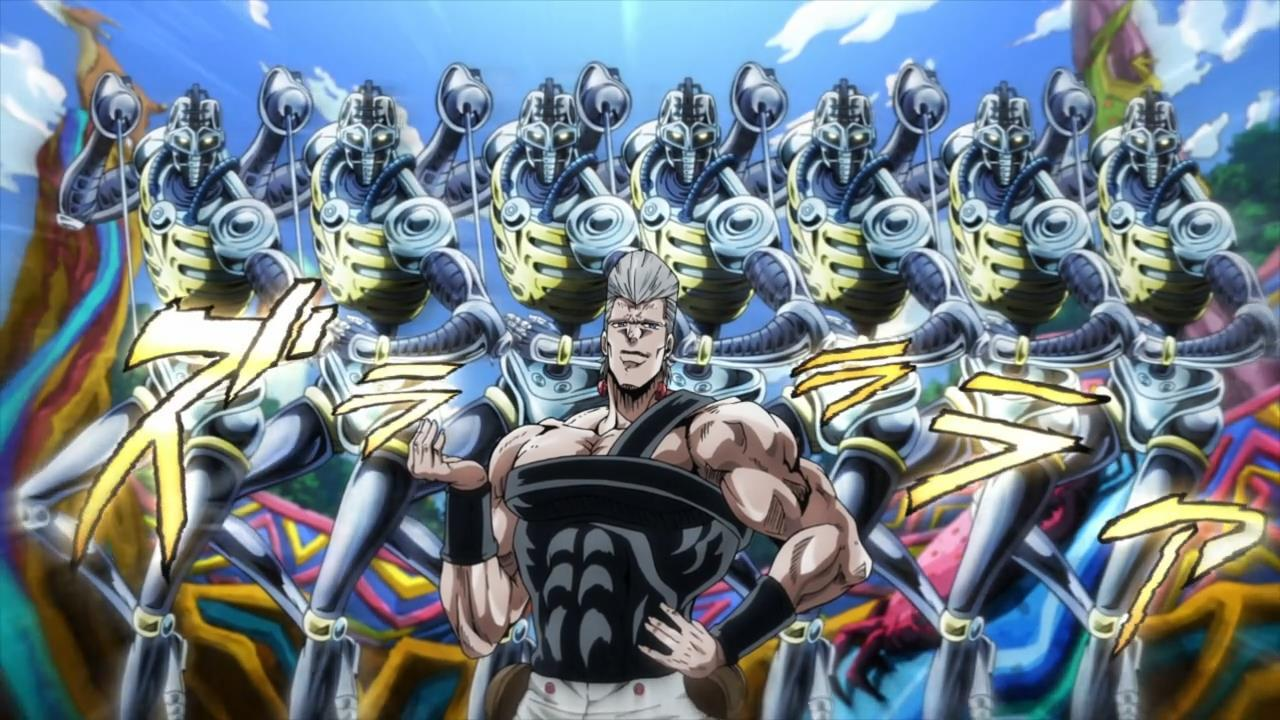 Jojo Stardust Crusaders Wallpaper Posted By Christopher Tremblay
