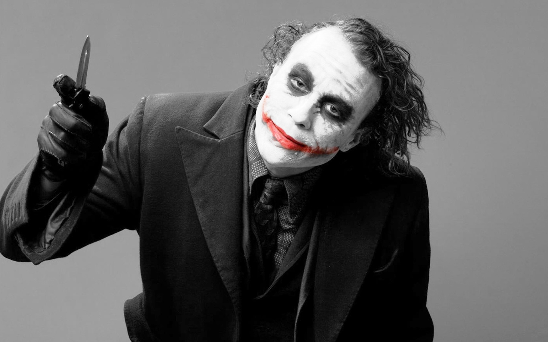Joker Heath Ledger Wallpaper Posted By Samantha Sellers